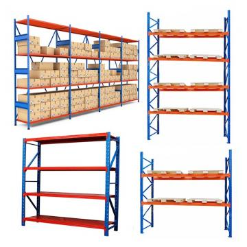 Knocked Down Light duty Adjustable Metal Steel Warehouse Storage Rack Units Iron Shelving