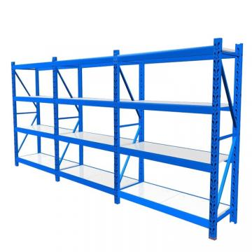 Custom-made products and 3 layers high cold rolled steel material warehouse rack