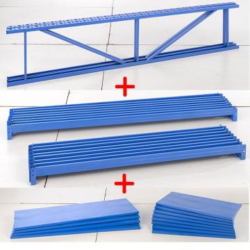 storage shelving unit rack boltless rivet shelves 1.5-2.3mm 800mm YES